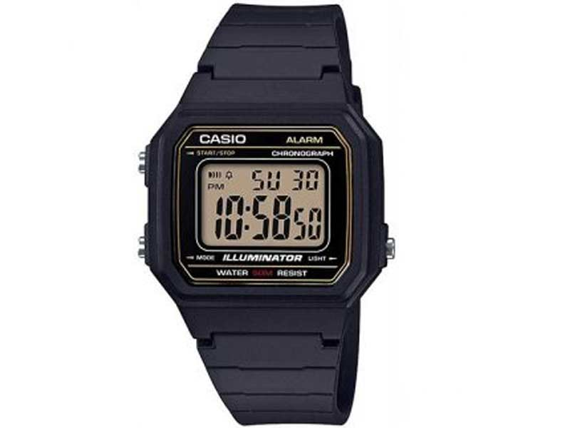 Casio Illuminator Digital Wrist Watch W 217H 9AVDF 1989watch