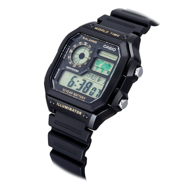 AE 1200WH 1BVDF 1989watch