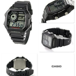 Dong ho Casio AE 1200WH 1AVDF 1989watch 1