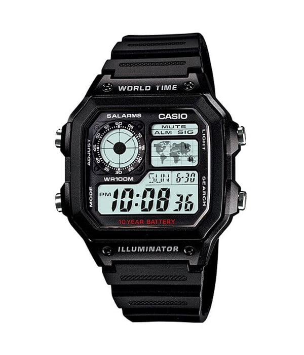 Dong ho Casio AE 1200WH 1AVDF 1989watch 3 1