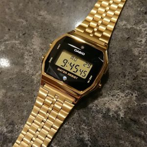 dong ho casio A159WGED 1DF 1989 watch