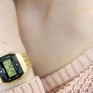 dong ho casio A159WGED 1DF tai 1989watch