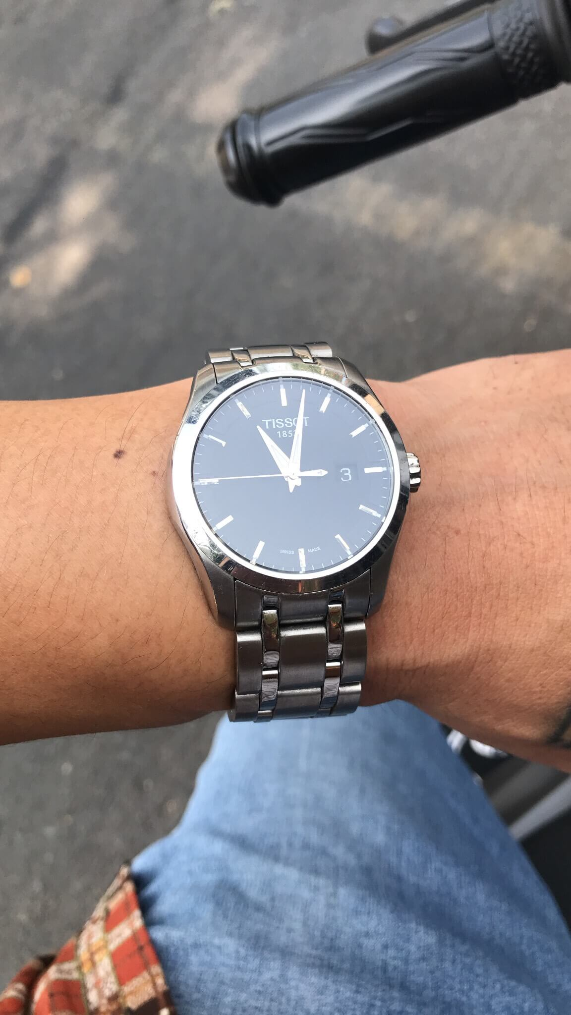 cach phoi day deo dong ho tissot 1989W4