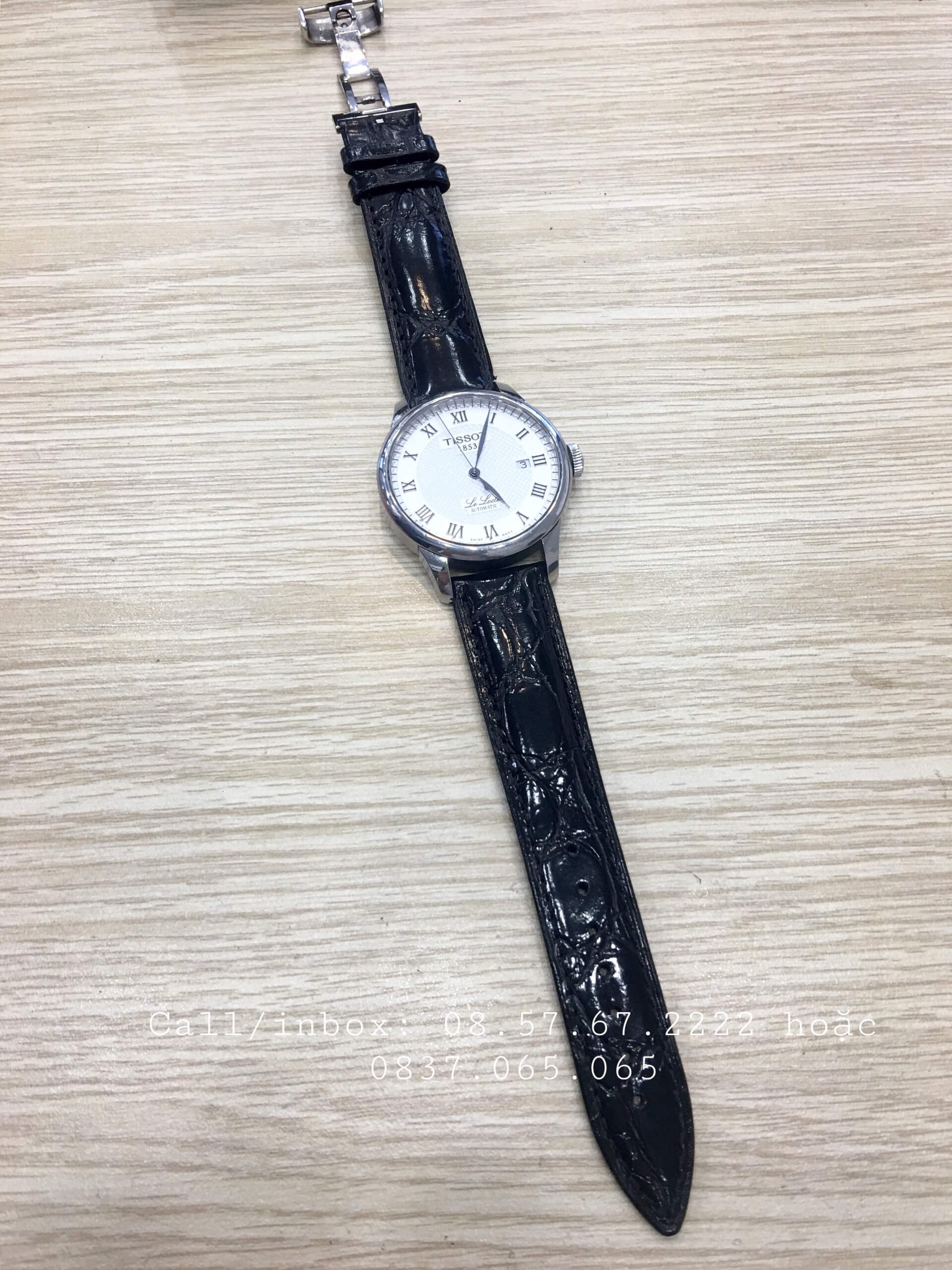 cach phoi day deo dong ho tissot 1989W5