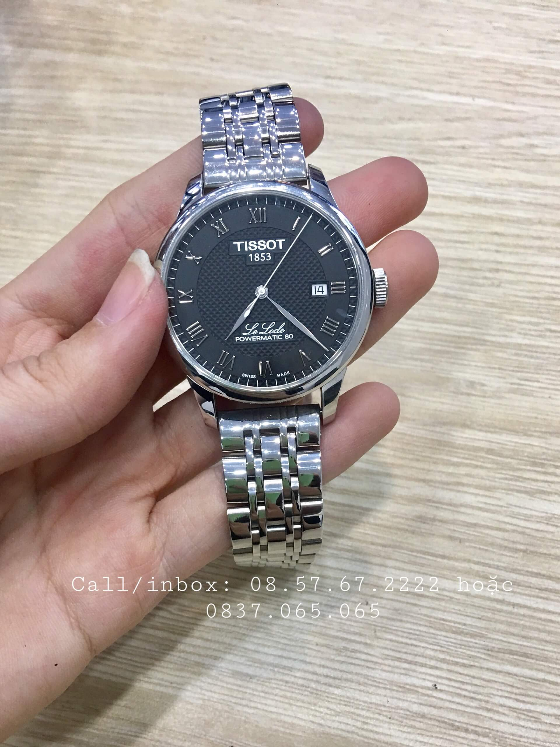 cach phoi day deo dong ho tissot 1989W6